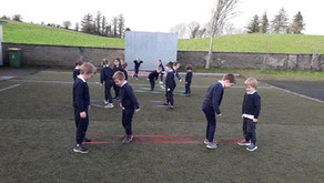 Skipping with elastics