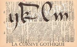 Gothique Cursive