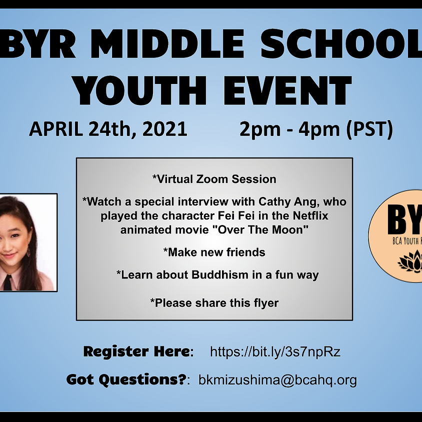 BYR Middle School Youth Event