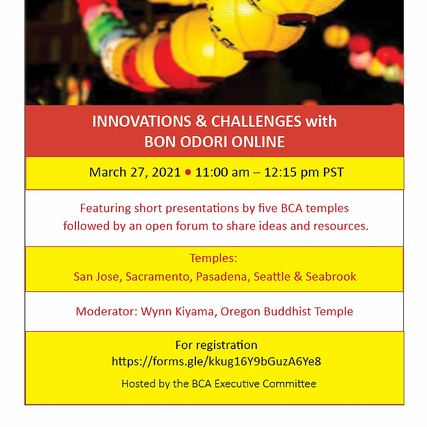 Innovations and Challenges with Bon Odori Online