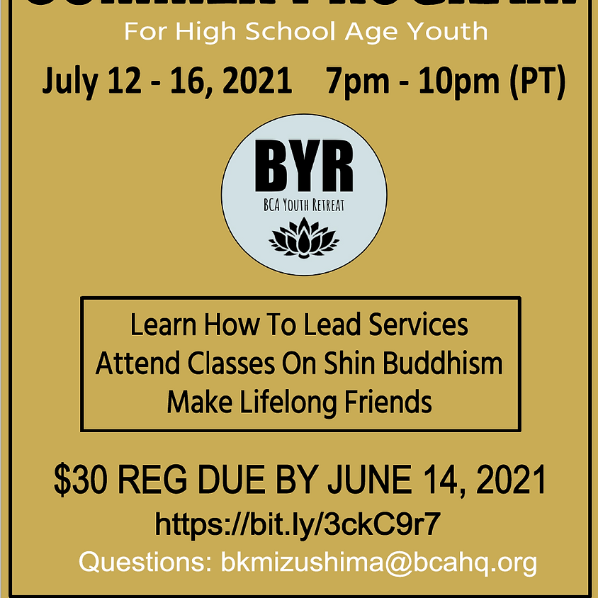 2021 BYR Virtual Summer Program
