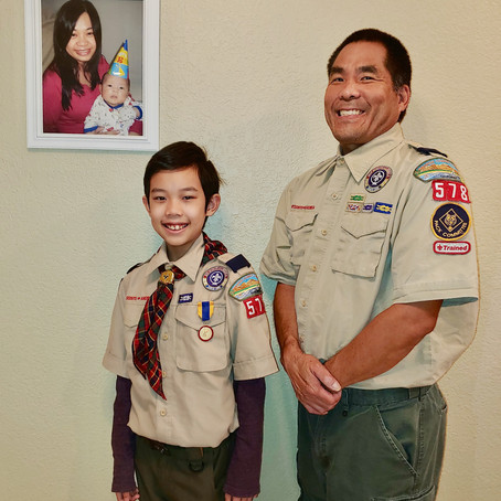 OCBC Boy, 10, Awarded Rare BSA Honor for Saving Mother's Life