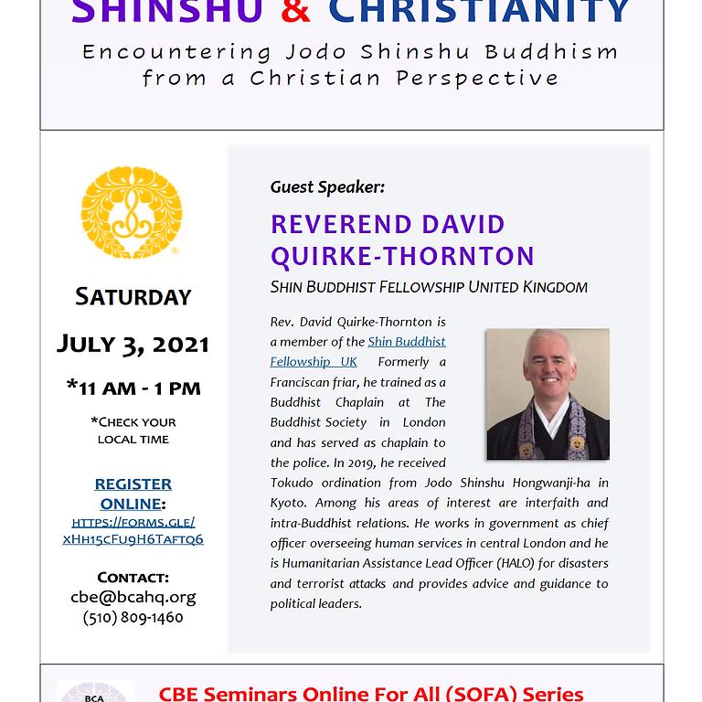 Shinshu and Christianity