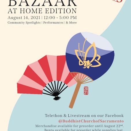 Sacramento's 75th Bazaar ReturnsAug. 14 as Online Telethon