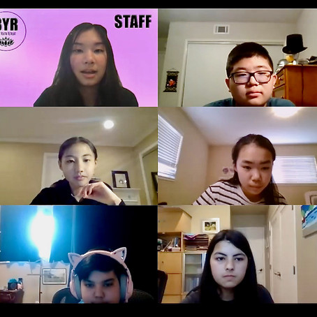 First Virtual BYR Middle School Event Held