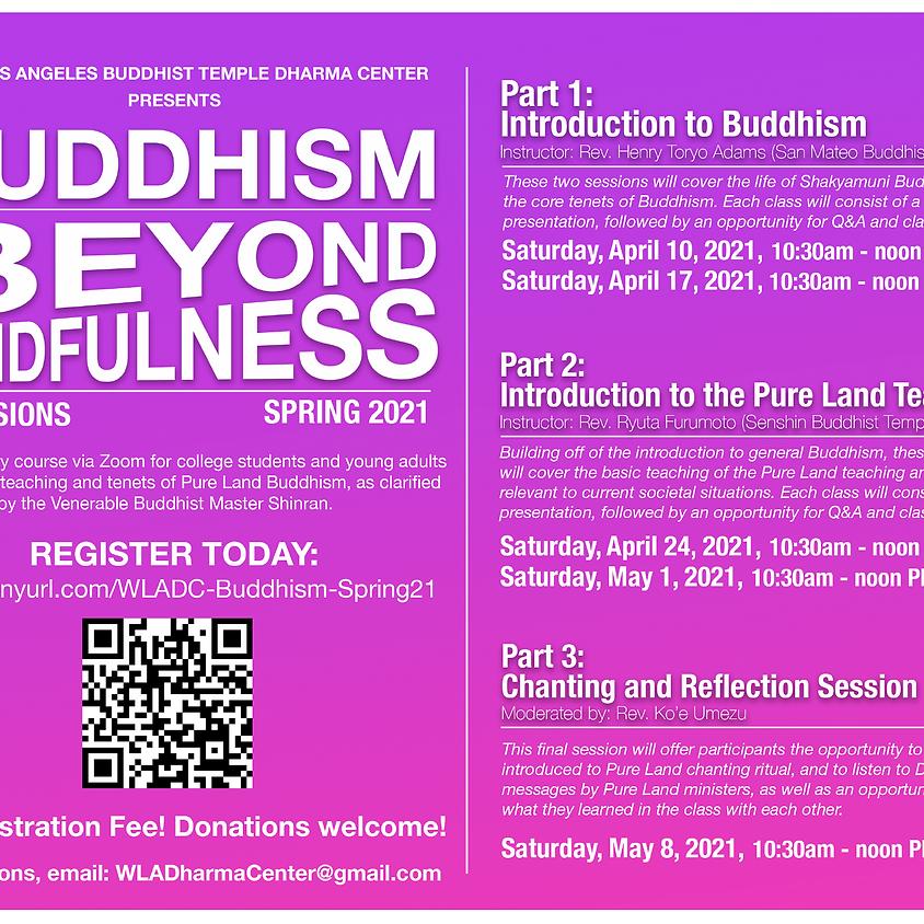 Buddhism Beyond Mindfulness