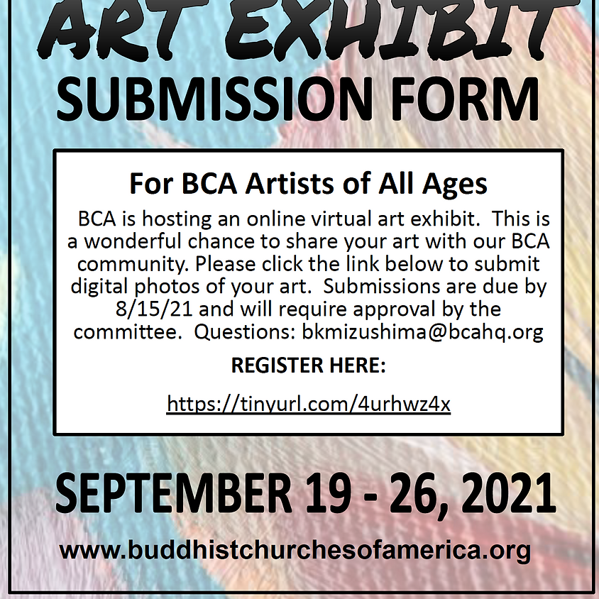 BCA Virtual Art Exhibit