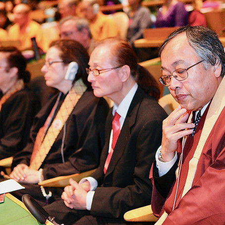 Rev. Kodo Umezu Praised for Leadership, Foresight