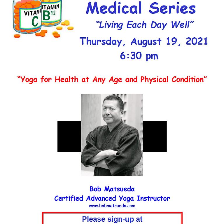 Yoga for Health by Bob Matsueda
