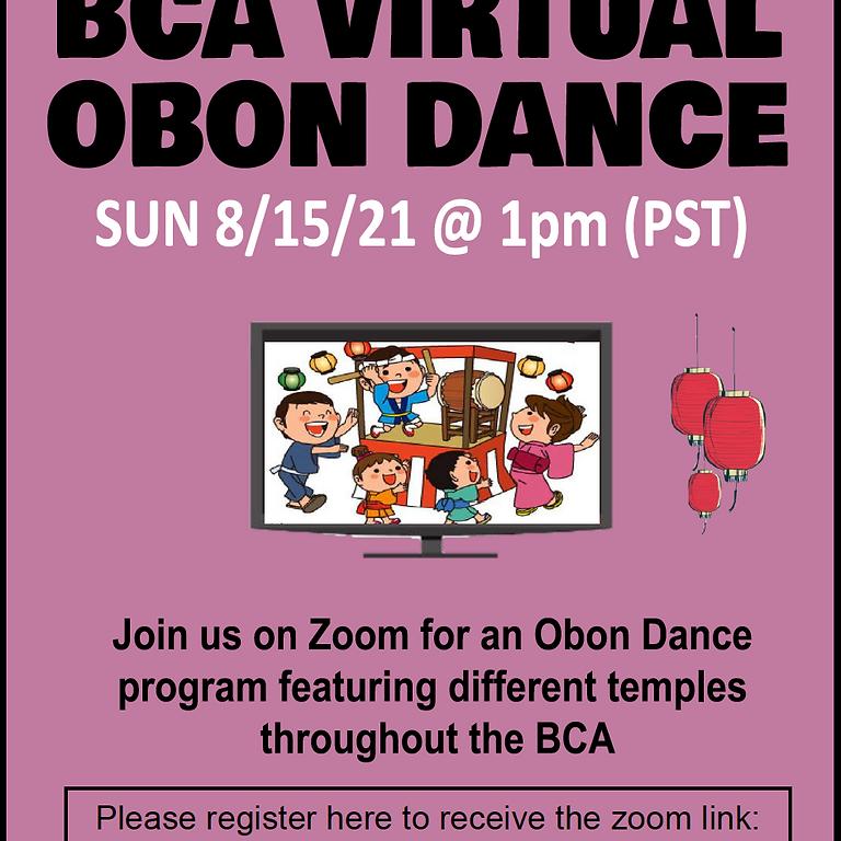 BCA Virtual Obon Dance