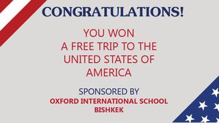 Free School Trip to the USA