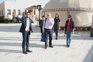 Westminster International University in Tashkent visit