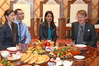 Ambassador Gwaltney visits OIS