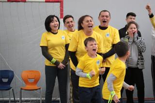 """Dad, Mom, me – sport-kind family!"""