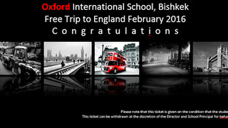 Free School International trips