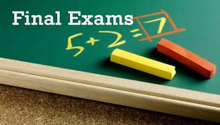 Final Exams Week Information