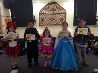 Disney Character and Super Hero Spirit Day at OIS.