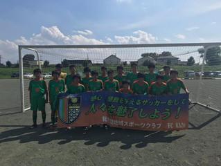 2019 コミュニケーションカップ U-15・16
