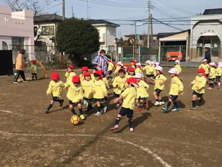 EHPサッカー教室大利根ふじ幼稚園