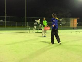 ソフトテニススクール 11.25