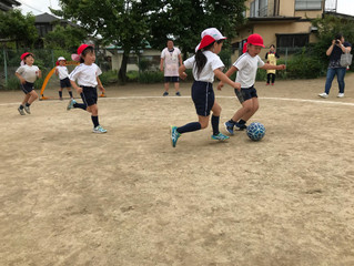 2018年度 ボランティアサッカー教室 5.30