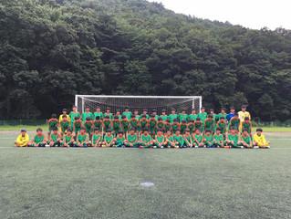 U-15全カテゴリー 夏季強化合宿 in 福島県