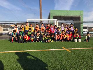 FC KAZO 地域サッカースクール、テクニカルスクールボラーゾ東村山サッカー、スマイースサッカースクール、FC KAZOグループ合同ウィンター合宿