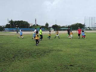 地域サッカースクール全校&テクニカルスクール合同 FC KAZOサマーフェスティバル
