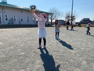 EHPサッカー教室北川辺保育所