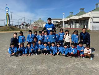 EHPサッカー教室㏌北川辺幼稚園