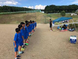 U-12・11クラブ 夏季強化合宿