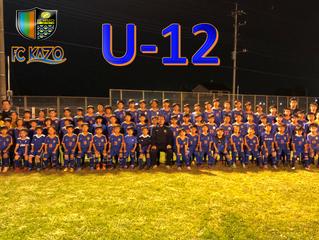 U-12全カテゴリー 2018-2019シーズン集合写真