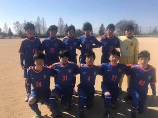 U-14クラブ 埼玉県ユース(U-15)サッカーリーグ2部 第1節延期分 対 武南Jr