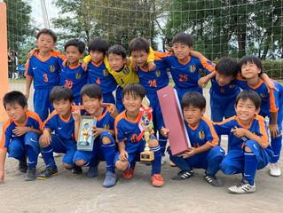 【優勝!!】U-8クラブ 2019年度ブルボ新町鉄南カップU-8