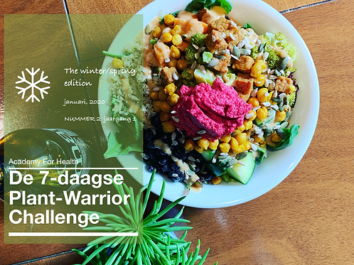 7-Daagse Plant-Warrior Challenge winter/ spring edition