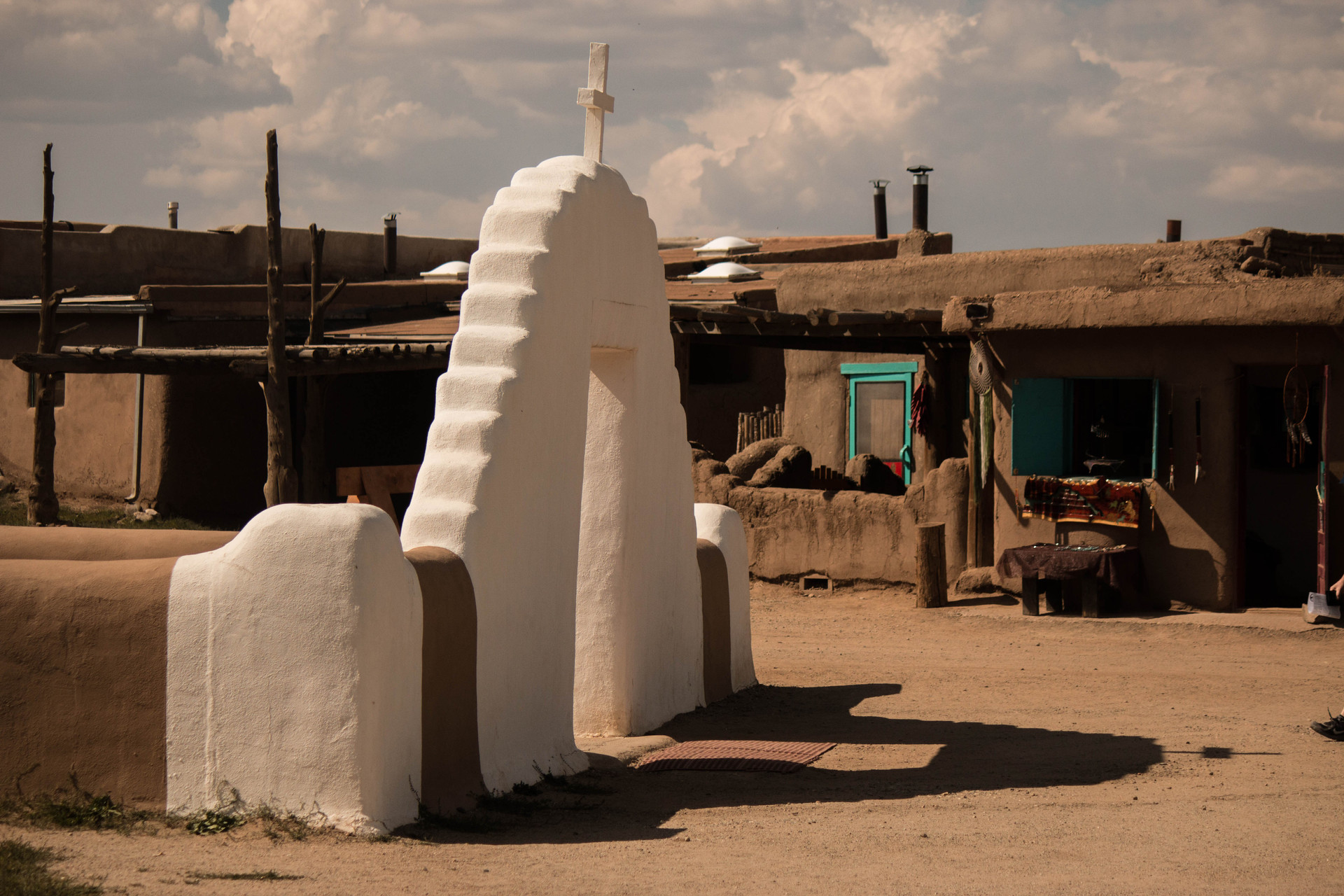 Taos Pueblo Doorway