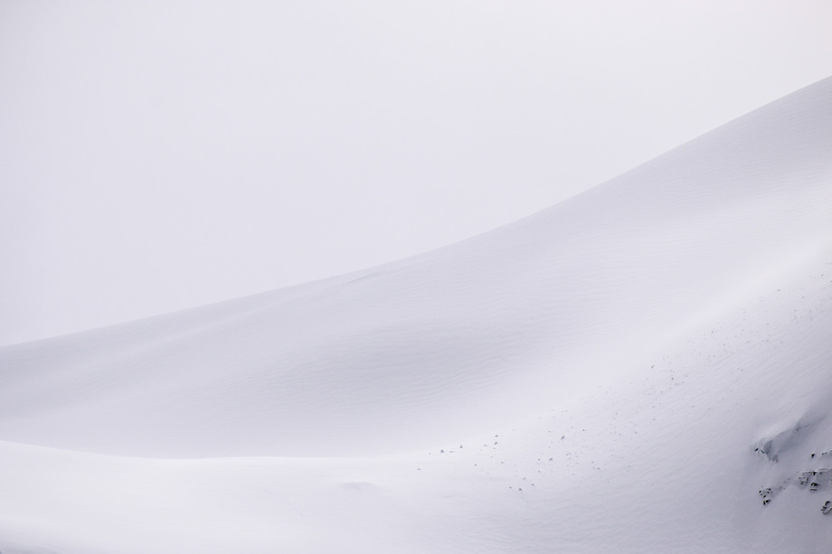 Joffre snow dune