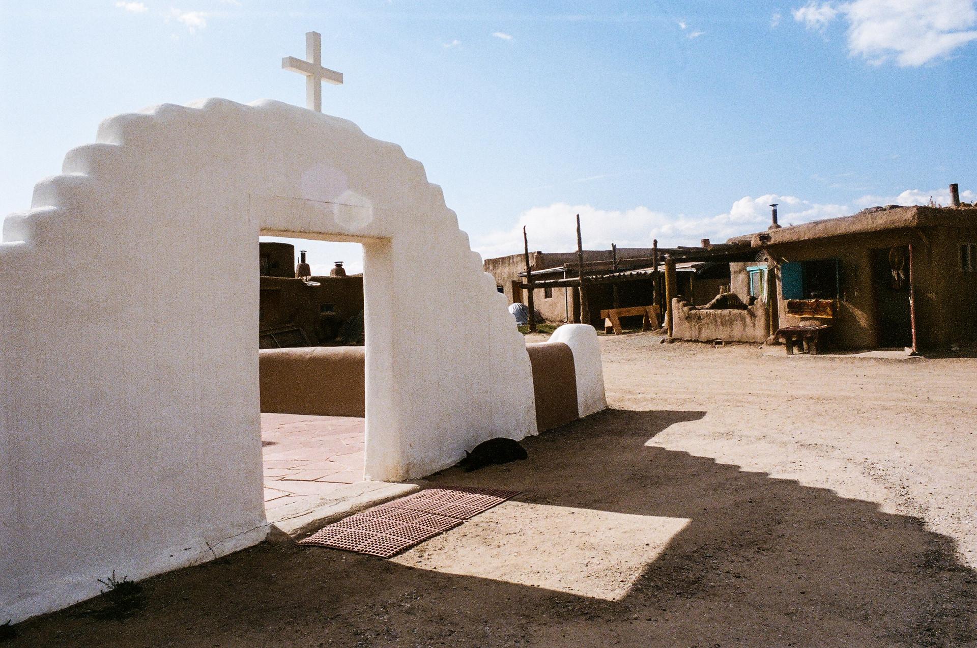 Taos Pueblo Doorway 2