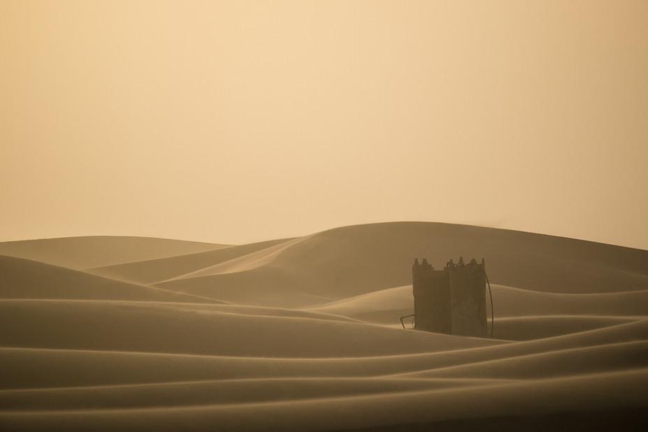 Sahara haze