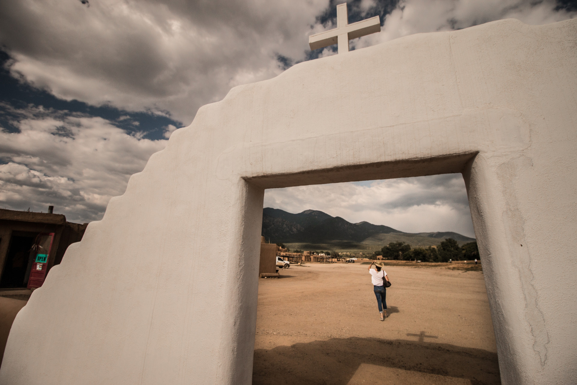 Taos Pueblo Framed