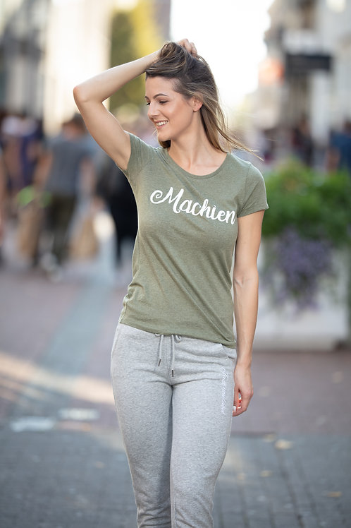 T-shirt machien - khaki