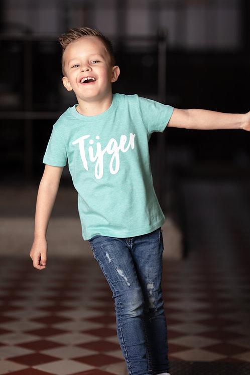 T-shirt kids 'tijger' - boys