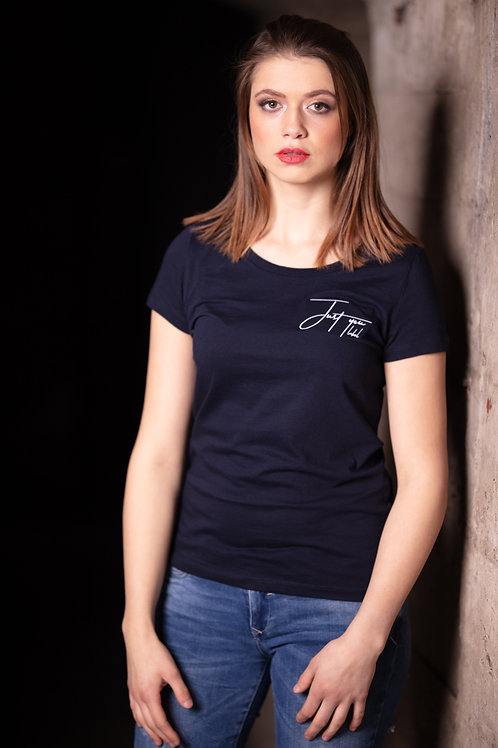 T-shirt 'Just you label' - blue