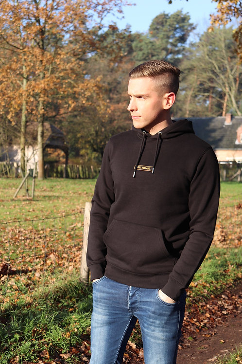 Premium hoodie - black & gold!