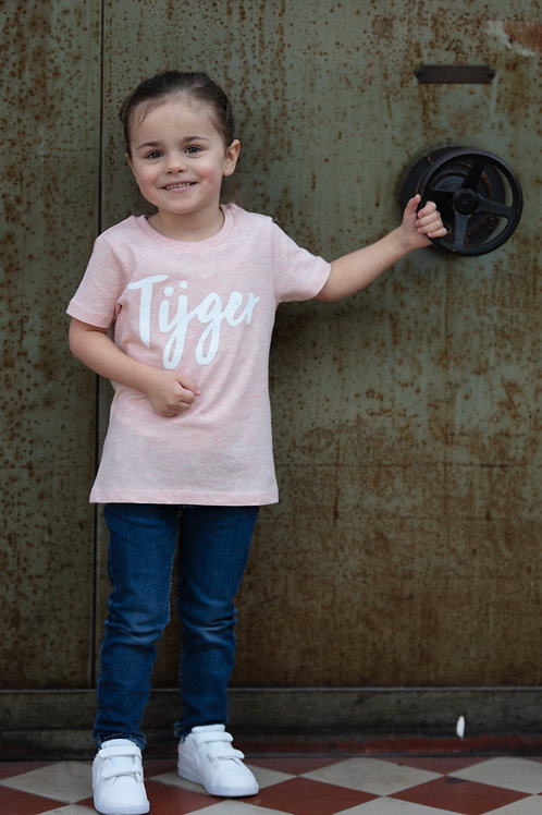 T-shirt kids 'tijger'- girls