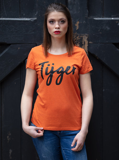 T-shirt 'tijger' - woman
