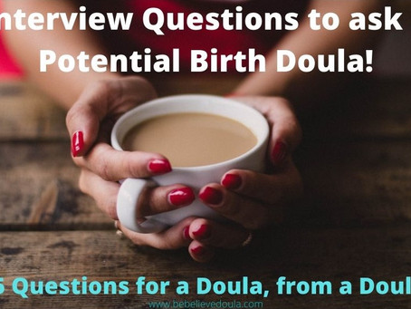 Take the intimidation out of the interview-Interviewing a Doula
