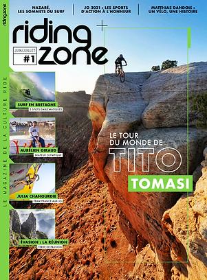 Riding Zone Magazine - Abonnement 1an/6N°