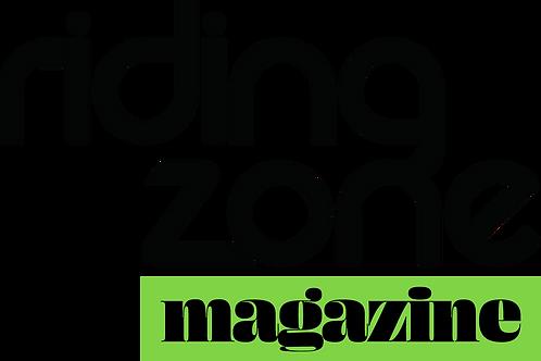 Riding Zone Magazine - Abonnement 1an/6N°, à partir du N°3