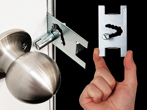 3 Pack- Qicklock-Portable Door Lock- Temporary Safety and Security Lock